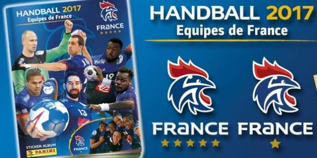 L'équipe de France de handball a désormais son album Panini