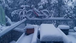 Enjoy These Images Of The Deep, Deep, Aussie Autumn Snow That Just