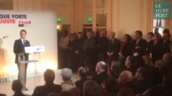 La touchante fin du discours de Manuel Valls que les téléspectateurs n'ont pas pu