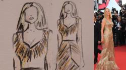 Une styliste dessine les plus belles tenues du dernier tapis rouge de