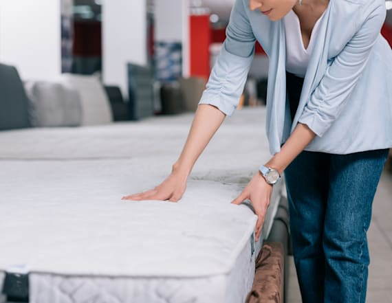 This is why it's illegal to remove a mattress tag