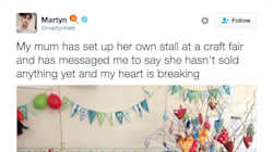 Mum Didn't Sell Any Knitted Goods At A Fair, So Twitter Bought It