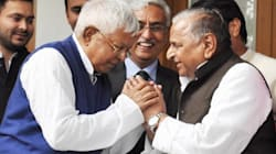 Lalu Prasad Yadav Plays Peacemaker Between SP's Feuding Father And