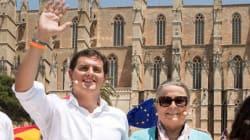 Estupefacción en Twitter por lo que soltó esta señora en un acto con Rivera sobre Cataluña y los