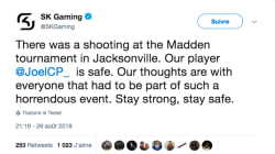 La communauté des gamers sous le choc après la fusillade de