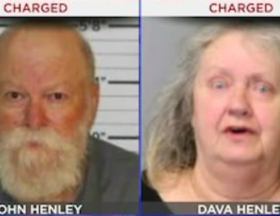 Elderly couple accused of raping kid family members
