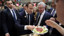 Macron a encore battu le record du séjour le plus long au Salon de