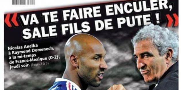 Raymond Domenech raconte sa version du clash avec Nicolas Anelka.