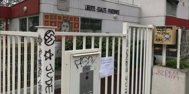 Des tags antisémites ont été découverts sur une école de Montreuil.