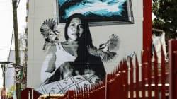 El mural de Yalitza Aparicio que enorgullece a