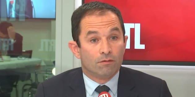 Benoît Hamon invité sur RTL le 2 janvier 2019.