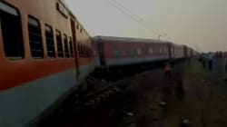 Kaifiyat Express Derails In UP's Auraiyya District, Over 70 Reportedly
