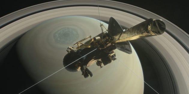 La sonde Cassini plonge dans Saturne après 13 ans de bons et loyaux services.