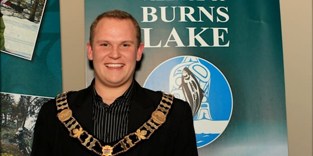 Luke Strimbold was the youngest mayor ever to be elected in the province in 2011, when he was 21.