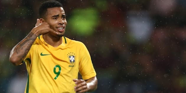 Gabriel Jesus é uma das maiores esperanças da Seleção Brasileira na luta pelo hexacampeonato mundial.