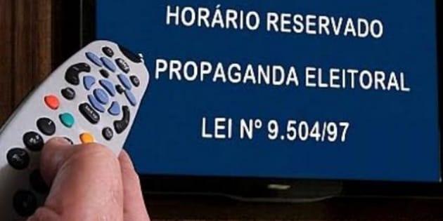 Horário político na televisão terá início no dia 31 de agosto.