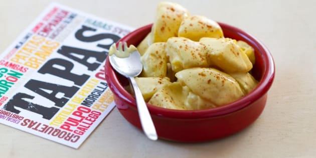 Ma recette, vite fait, bien fait, de patatas bravas.