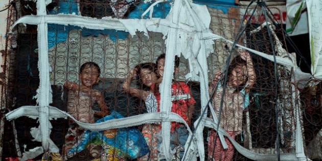 """Entre pauvreté, malnutrition et maladies, le malheur règne dans le quartier manillais de """"Happyland"""""""