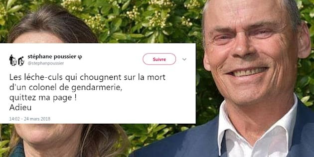 Garde à vue pour Stéphane Poussier, l'ex-Insoumis qui se félicitait de la mort du gendarme Arnaud Beltrame