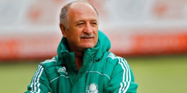 Luiz Felipe Scolari, o Felipão, assume comando do Palmeiras pela terceira vez.