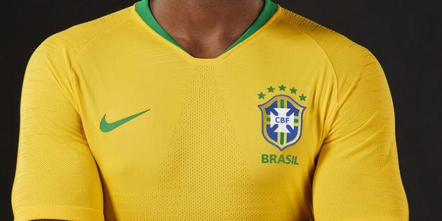 Seleção terá novos uniformes na Copa do Mundo. Estreia será contra a Rússia.