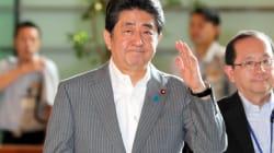 安倍首相、靖国神社に玉串料奉納 自民党総裁の肩書で