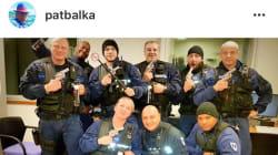 Patrick Balkany publie (puis efface) une photo déroutante de sa police