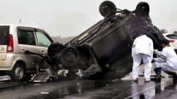 4人死亡事故、飲酒運転130キロで追突か 男性聴取へ