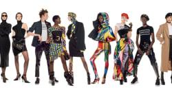 54 modelos, diversas razas y nacionalidades: el poderoso mensaje de