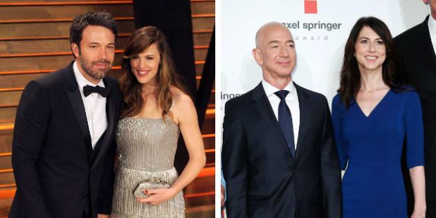 Da Ben Affleck a Jeff Bezos |  divorziare in amicizia è il nuovo trend di Hollywood