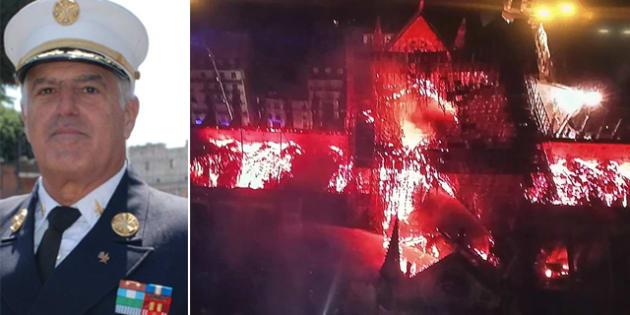 Robert Triozzi |  ex comandante vvf all' Onu |   I pompieri francesi sono stati bravi