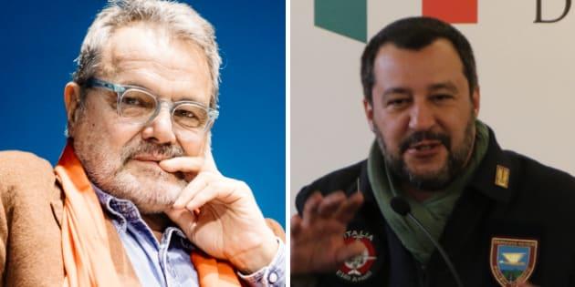 """Oliviero Toscani: """"Le divise di Salvini? Ha dei comples"""