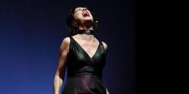 La actriz Velilla Valbuena en el evento 'Dirige, mentorías a escena' el 11 de marzo de 2017.