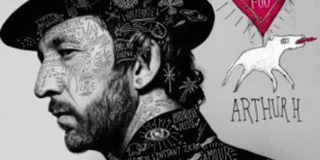 """La couverture de l'album d'Arthur H, """"Amour chien fou"""""""