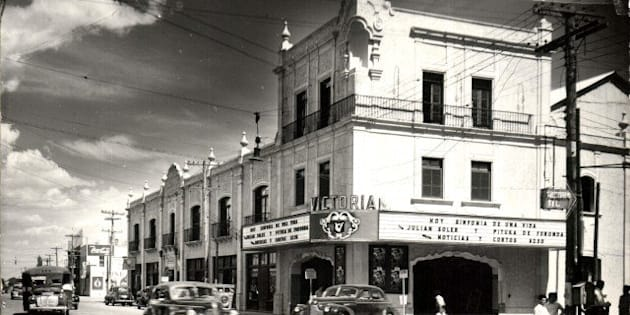El Cine Victoria fue uno de los cines de mayor tradición en la frontera.