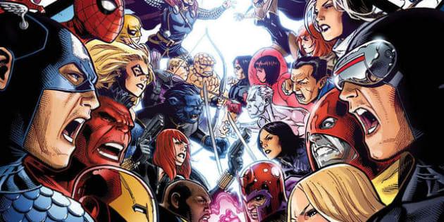 """Grâce au rachat de la Fox par Disney, cette BD mythique """"Avengers VS X-Men"""" va enfin pouvoir être adaptée en film"""