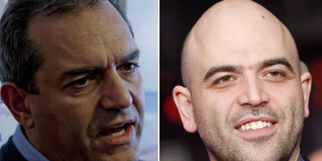 """De Magistris: """"Saviano è incapace di raccontare Napoli"""""""