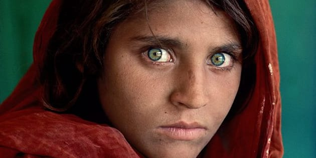 Sharbat Gula, icône de National Geographic