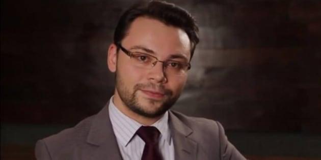 Diogo Costa participou da sabatina representando João Amoedo, do Partido Novo.