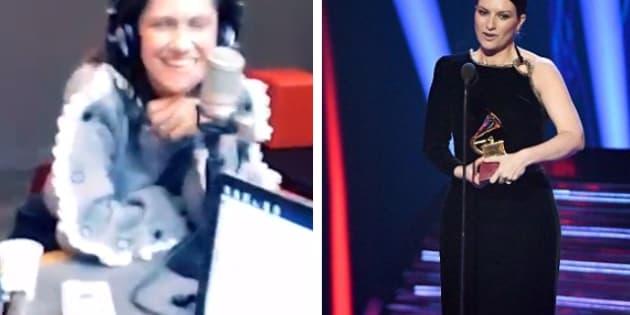 Elisa imita Laura Pausini in radio: la gag è esilarante