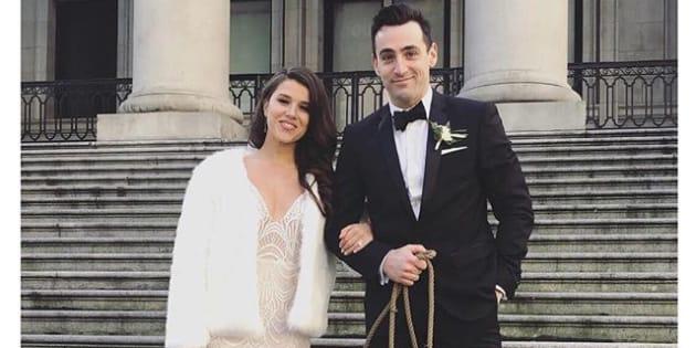 Hedley's Jacob Hoggard marries actress Rebekah Asselstine in NYE ceremony