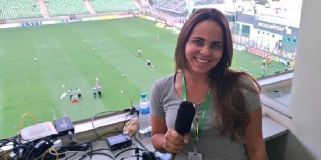 """Vencedora do """"Narra Quem Sabe"""", da Fox Sports, estreou na Copa da Rússia e entrou para a História."""