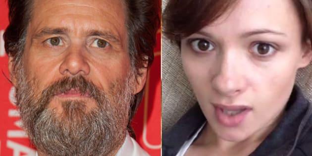 Jim Carrey, la lettera shock della fidanzata suicida