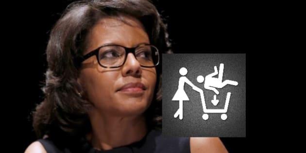 """Audrey Pulvar dénonce le sexisme du logo d'""""AdopteUnMec"""""""
