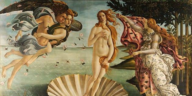 La Venere di Botticelli cela i dettagli anatomici della vita