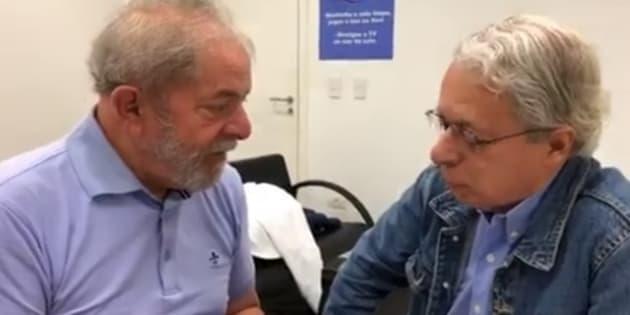 Em conversa com Frei Betto, Lula pegou pesado com o juiz Sérgio Moro.