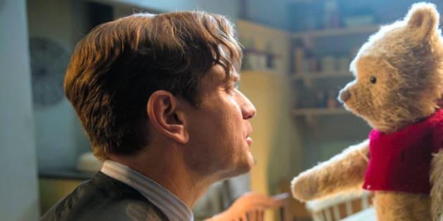 映画「プーと大人になった僕」(邦題)の一場面。ウォルト・ディズニー社提供=AP