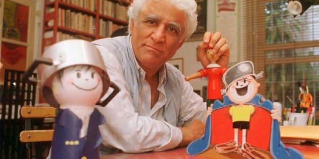 Ziraldo vai ganha homenagem em uma mega exposição de quadrinhos no MIS de São Paulo, em novembro
