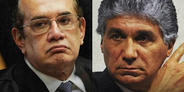Ministro Gilmar Mendes (à esquerda) mandou soltar Paulo Preto, ligado ao PSDB, por falta de 'argumentos sólidos' para a prisão.