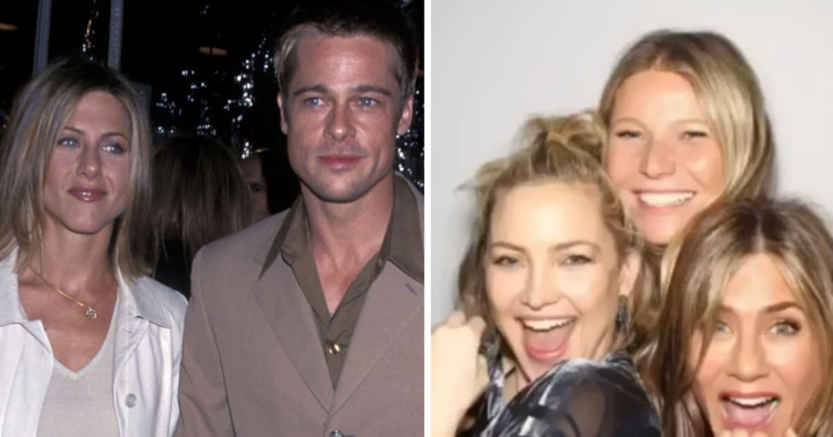 Jennifer Aniston compie 50 anni e si regala una festa con gli amici (e con Brad Pitt)